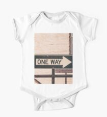 One Way One Piece - Short Sleeve
