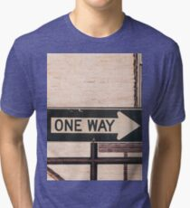 One Way Tri-blend T-Shirt