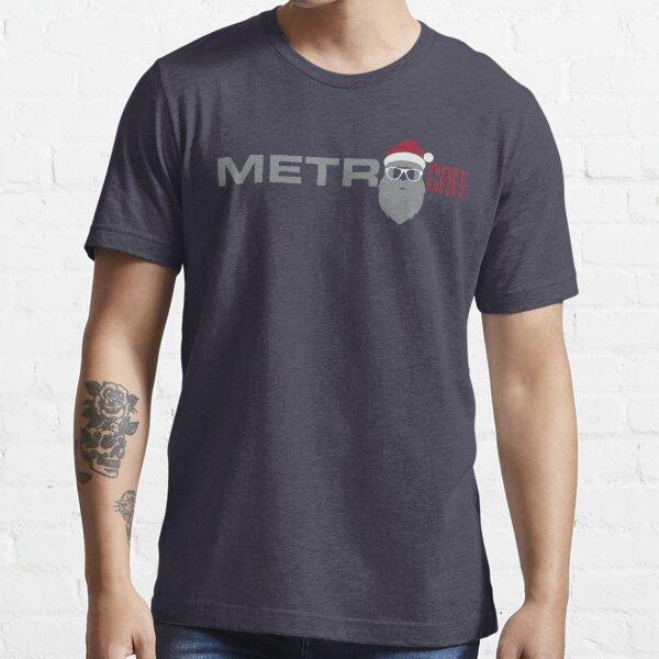 Metro Cafe Christmas Santa  Essential T-Shirt
