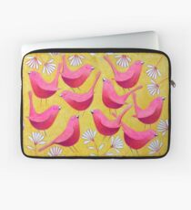 Pink Flock Laptop Sleeve