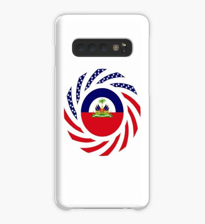 Haitian American Multinational Patriot Flag Series Case/Skin for Samsung Galaxy