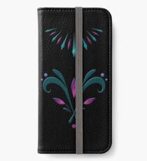 Elsa Embroidery iPhone Wallet/Case/Skin