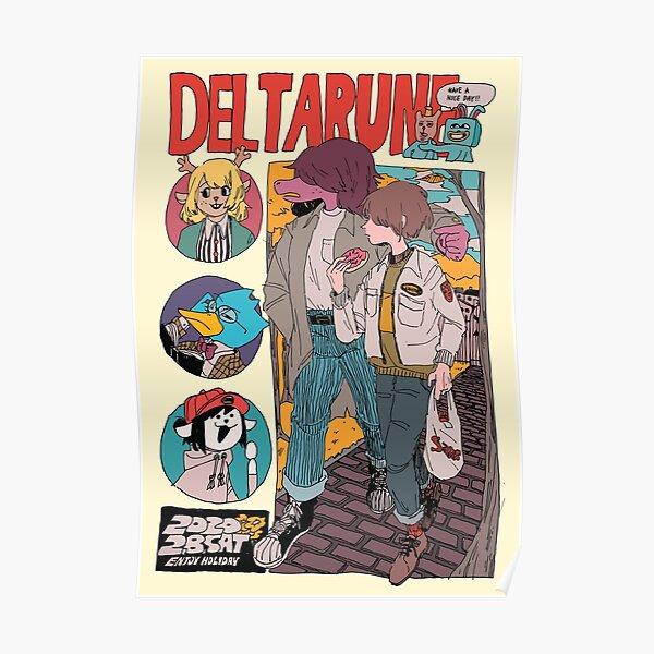 Deltarune Magazine Poster