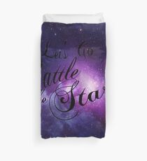 Let's Go Rattle The Stars - Throne of Glass Design Duvet Cover