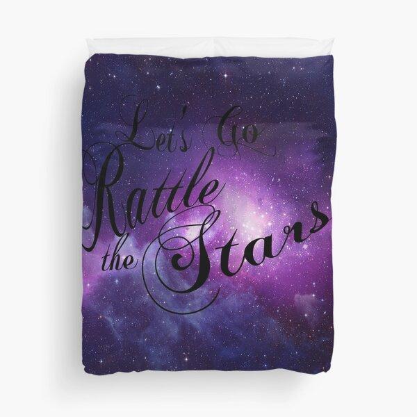 Let's Go Rattle The Stars - Throne of Glass Design Duvet Cover