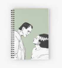 Frankensteins Monster und seine Braut Spiralblock