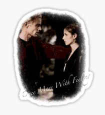 Spike And Buffy - Once More With Feeling Sticker