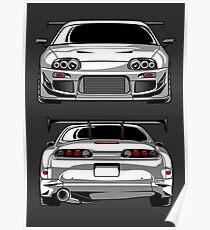 Toyota Supra 2JZ Poster