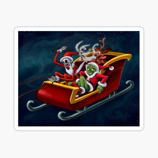 Christmas Hijackers Sticker