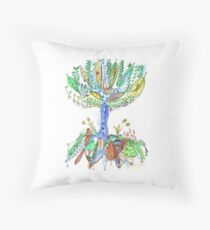 Tree of Life 2 Throw Pillow