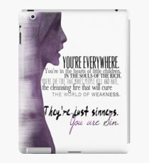 The First Evil iPad Case/Skin