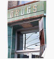 Abandoned Pharmacy Poster