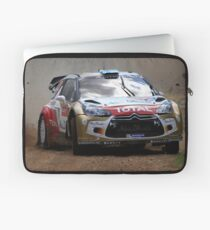 Miko Hirvonen - FIA World Rally Championship Australia 15.09.2013 Laptop Sleeve
