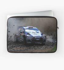 Mads Ostberg - World Rally Championship Australia - Sunday 2013 Laptop Sleeve