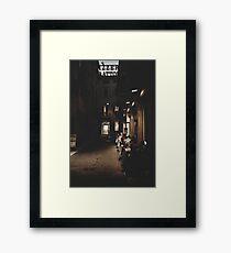 Pizzeria Trattoria  Framed Print