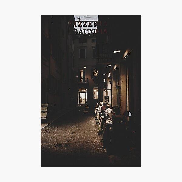 Pizzeria Trattoria  Photographic Print