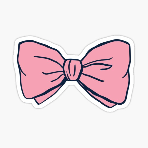 Original Preppy Bow Sticker