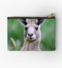 """ Portrait of a Kangaroo II "" Studio Pouch"