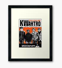 THE KELLER WILLIAMS KWAHTRO Framed Print