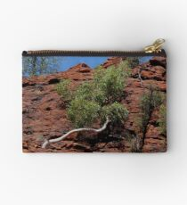 in Cycad Gorge - looking up  Studio Pouch