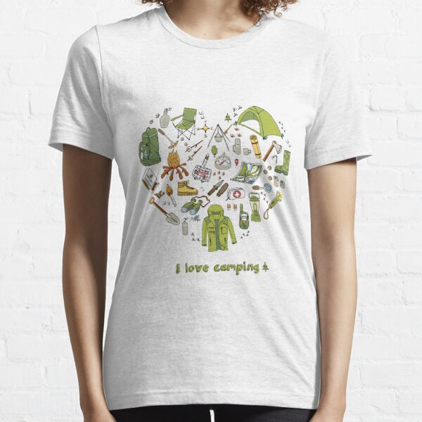 I love camping! Essential T-Shirt