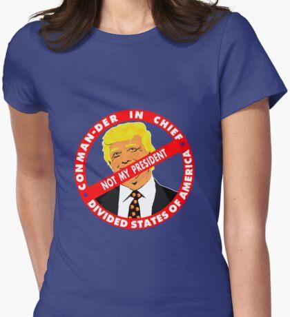 Trump CON MAN DER in CHIEF T-Shirt
