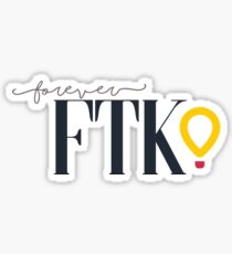 Dance Marathon FTK Sticker