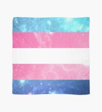 Trans-Flagge - LGBTQ-Galaxie Tuch