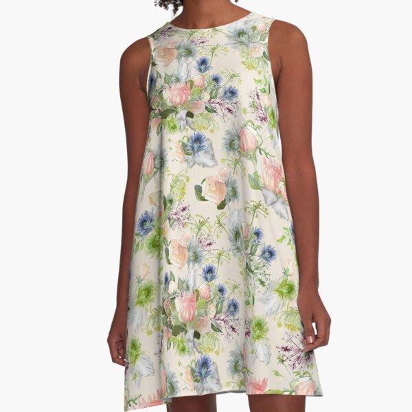 Maggie - Ivory A-Line Dress