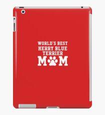 World's Best Kerry Blue Terrier Mom iPad Case/Skin