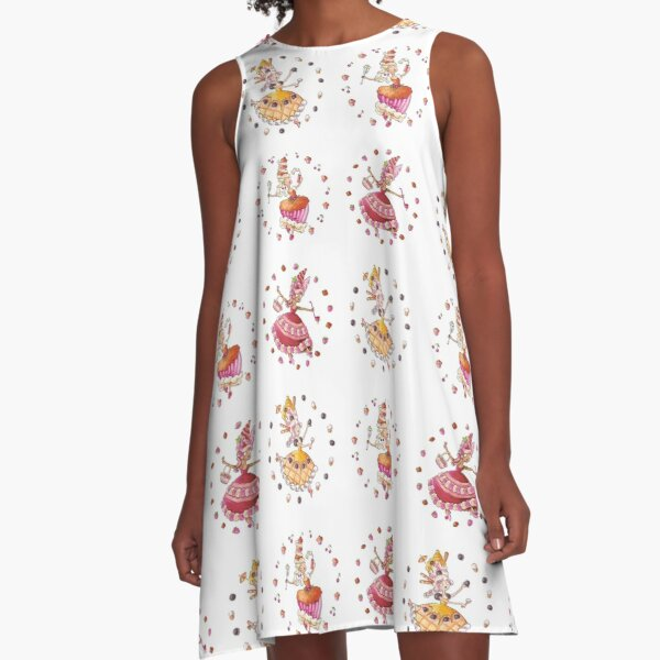 Cake Girls A-Line Dress