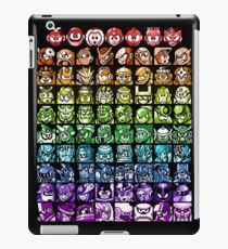 Mega Man Robot Masters Rainbow iPad Case/Skin
