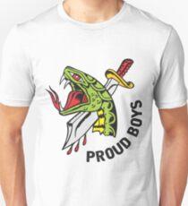 Proud Boys snake and Dagger Unisex T-Shirt