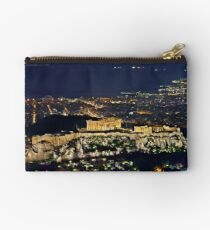 The Sacred Rock of the Acropolis Studio Pouch