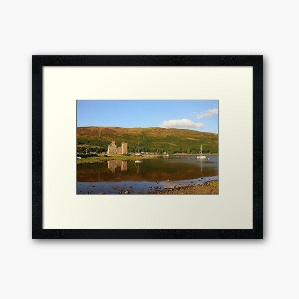 Lochranza Castle Framed Art Print