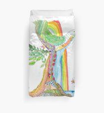 Tree of Life #19 - Peace Bird Duvet Cover