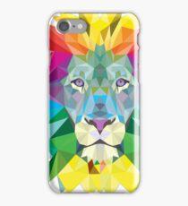Christmas Gift Lion Art Print iPhone Case/Skin