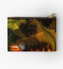 Monsters dancing by Valxart.com Studio Pouch