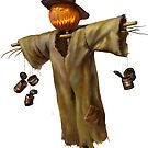 Halloween Scarecrow by Ldarro