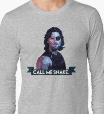Snake Plissken Long Sleeve T-Shirt