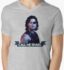 Snake Plissken Men's V-Neck T-Shirt