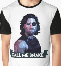 Snake Plissken Graphic T-Shirt