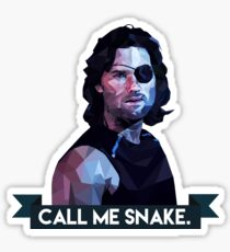 Snake Plissken Sticker