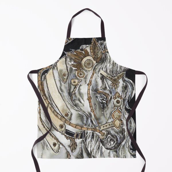 Steampunk Horse (The Chariot Tarot) Apron