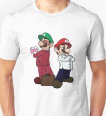 Mario Bros vs Fight Club Unisex T-Shirt