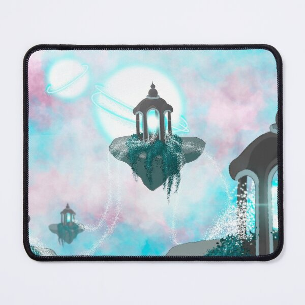 Floating Temples Mouse Pad