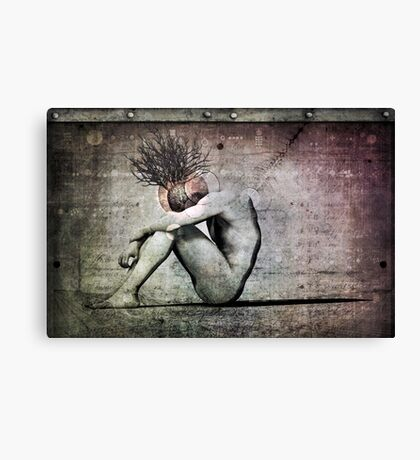Depression Of The Alchemist Canvas Print