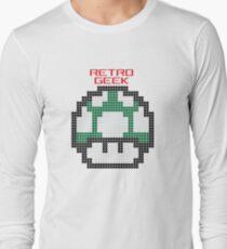 Retro Geek - One Up Long Sleeve T-Shirt