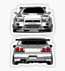 Nissan GTR R34 Sticker