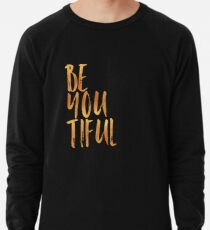 BE-YOU-TIFUL GOLD Leichter Pullover